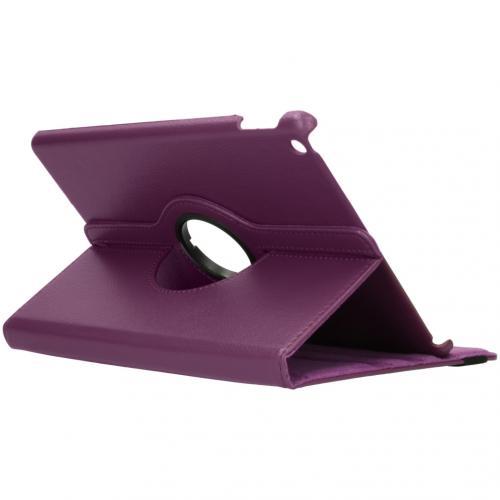 360° draaibare Bookcase iPad 10.2 - Paars