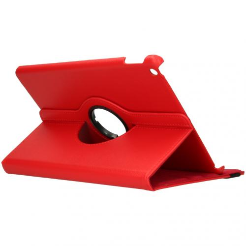 360° draaibare Bookcase iPad 10.2 - Rood