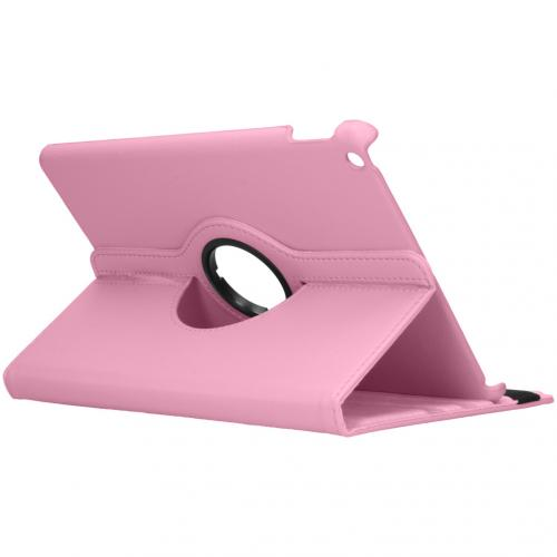 360° draaibare Bookcase iPad 10.2 - Roze