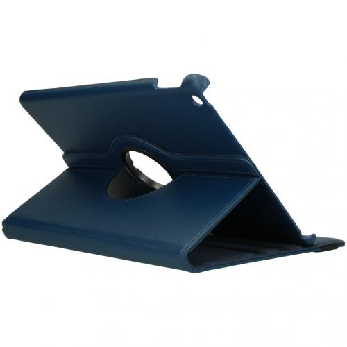 360° draaibare Bookcase voor de iPad 10.2 (2019 / 2020) - Blauw