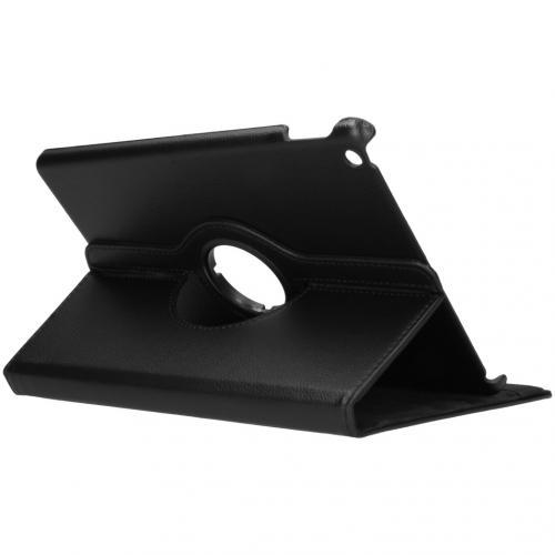 360° draaibare Bookcase voor de iPad 10.2 (2019 / 2020) - Zwart