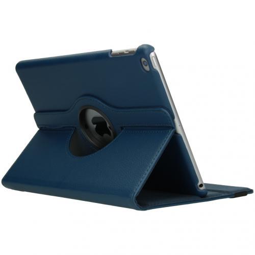 360° draaibare Bookcase voor de iPad (2018) / (2017) - Donkerblauw