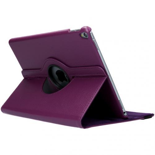 360° draaibare Bookcase voor de iPad Air 10.5 / Pro 10.5 - Paars