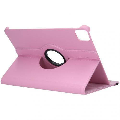 360° draaibare Bookcase voor de iPad Air (2020) / Pro 11 (2018 / 2020) - Roze
