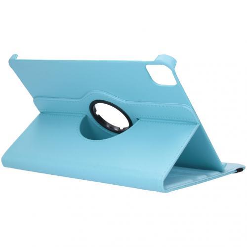 360° draaibare Bookcase voor de iPad Air (2020) / Pro 11 (2018 / 2020) - Turquoise