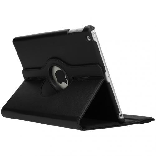 360° draaibare Bookcase voor de iPad Air - Zwart