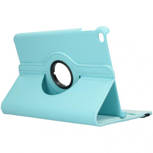 360° draaibare Bookcase voor de iPad mini (2019) - Turquoise