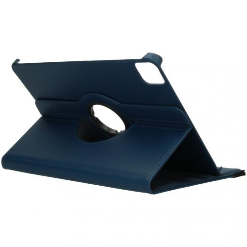 360° draaibare Bookcase voor de iPad Pro 11 (2020) - Blauw