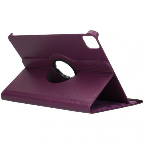 360° draaibare Bookcase voor de iPad Pro 11 (2020) - Paars