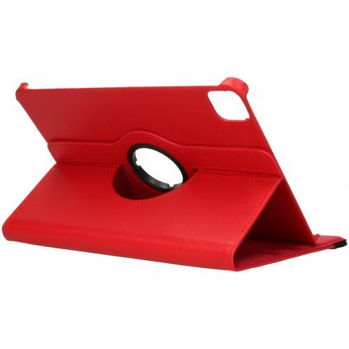 360° draaibare Bookcase voor de iPad Pro 11 (2020) - Rood
