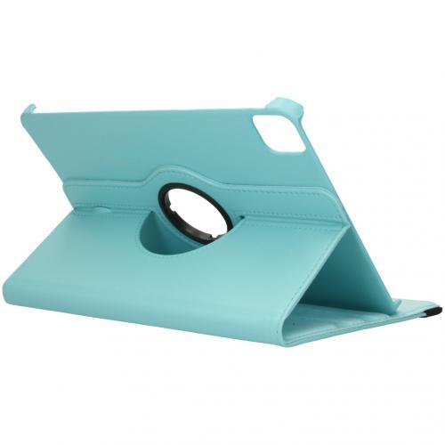 360° draaibare Bookcase voor de iPad Pro 11 (2020) - Turquoise