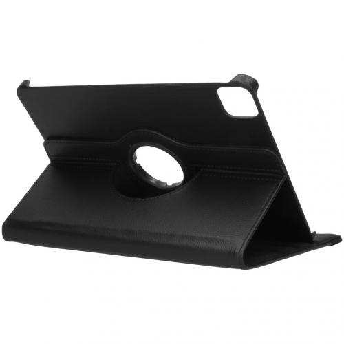 360° draaibare Bookcase voor de iPad Pro 11 (2020) - Zwart