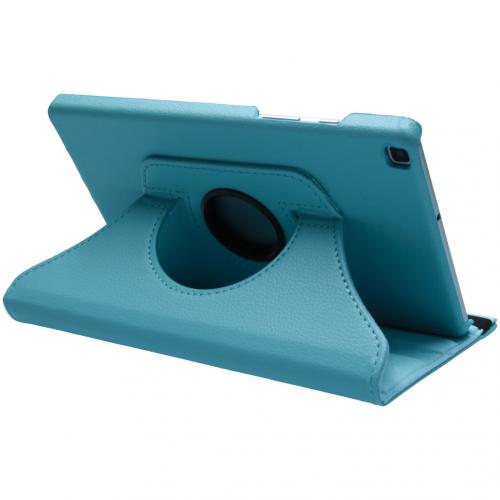 360° draaibare Bookcase voor de Samsung Galaxy Tab A 8.0 (2019) - Turquoise
