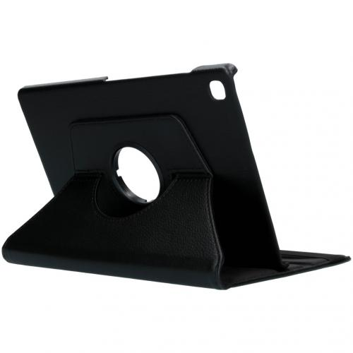 360° draaibare Bookcase voor de Samsung Galaxy Tab S5e - Zwart