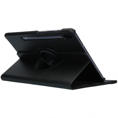360° draaibare Bookcase voor de Samsung Galaxy Tab S6 - Zwart