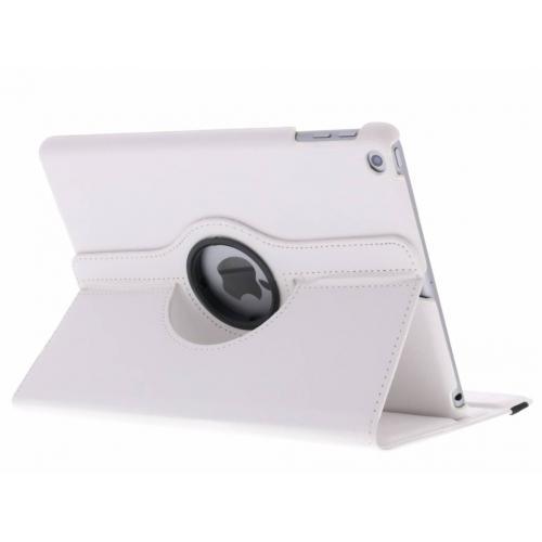 360° Draaibare Bookcase voor iPad (2017) / (2018) - Wit