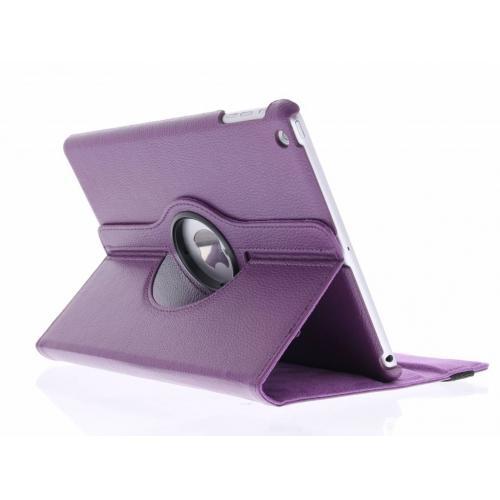 360° Draaibare Bookcase voor iPad Air - Paars