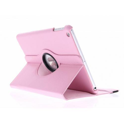 360° Draaibare Bookcase voor iPad Air - Roze
