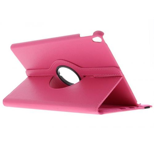 360° Draaibare Bookcase voor iPad Pro 10.5 / Air 10.5 - Roze