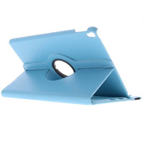 360° Draaibare Bookcase voor iPad Pro 10.5 - Lichtblauw