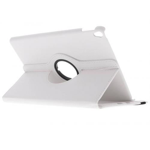 360° Draaibare Bookcase voor iPad Pro 10.5 - Wit