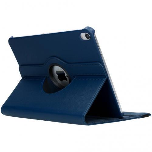 360° Draaibare Bookcase voor iPad Pro 11 - Blauw