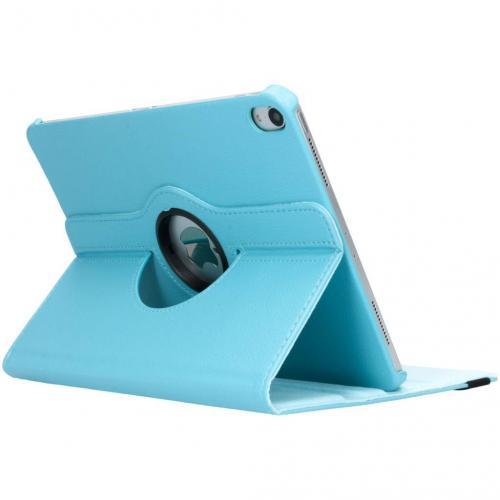 360° Draaibare Bookcase voor iPad Pro 11 - Lichtblauw