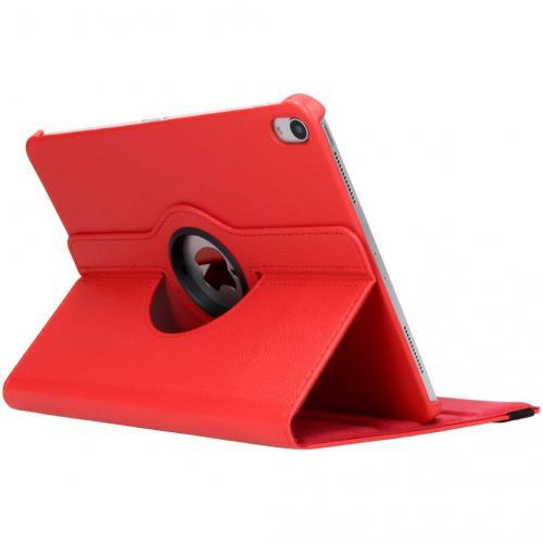 360° Draaibare Bookcase voor iPad Pro 11 - Rood