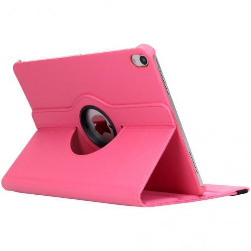 360° Draaibare Bookcase voor iPad Pro 11 - Roze