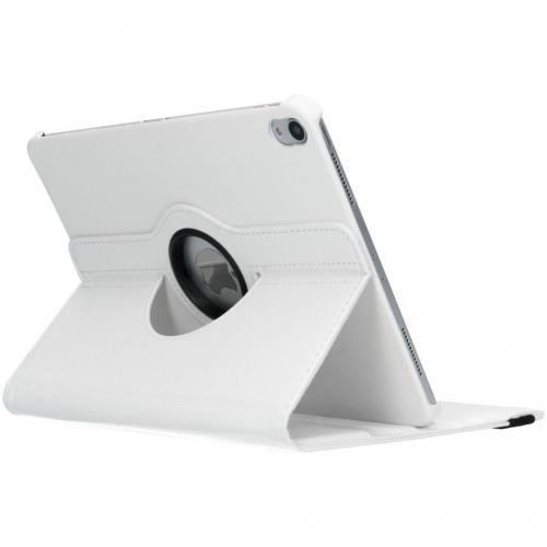 360° Draaibare Bookcase voor iPad Pro 11 - Wit