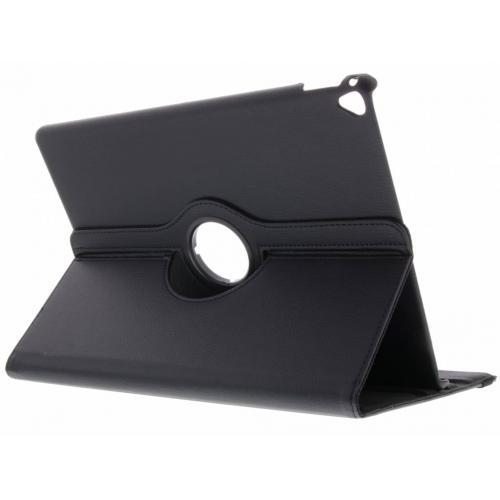 360° Draaibare Bookcase voor iPad Pro 12.9 (2017) - Zwart
