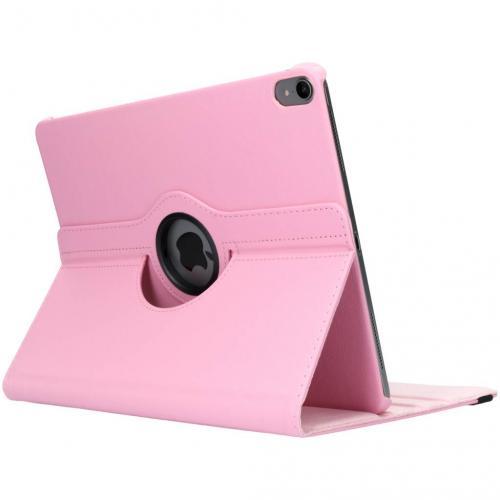 360° Draaibare Bookcase voor iPad Pro 12.9 (2018) - Roze