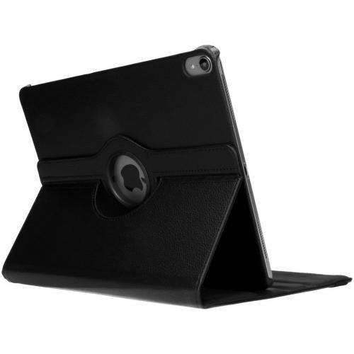 360° Draaibare Bookcase voor iPad Pro 12.9 (2018) - Zwart