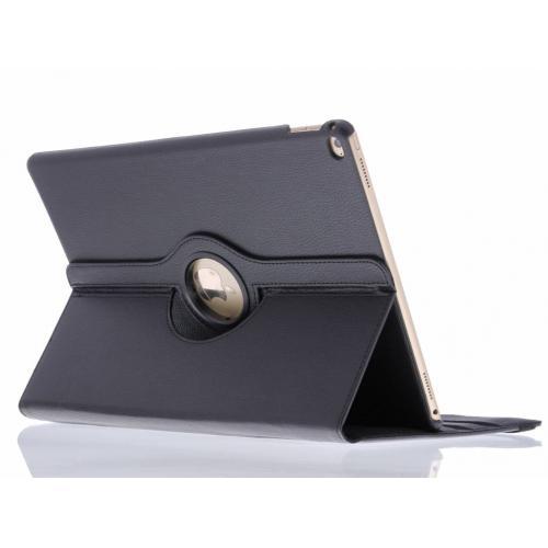 360° Draaibare Bookcase voor iPad Pro 12.9 - Zwart