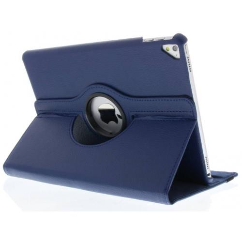 360° Draaibare Bookcase voor iPad Pro 9.7 - Donkerblauw