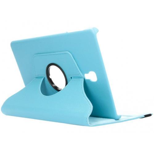 360° Draaibare Bookcase voor Samsung Galaxy Tab A 10.5 (2018) - Lichtblauw