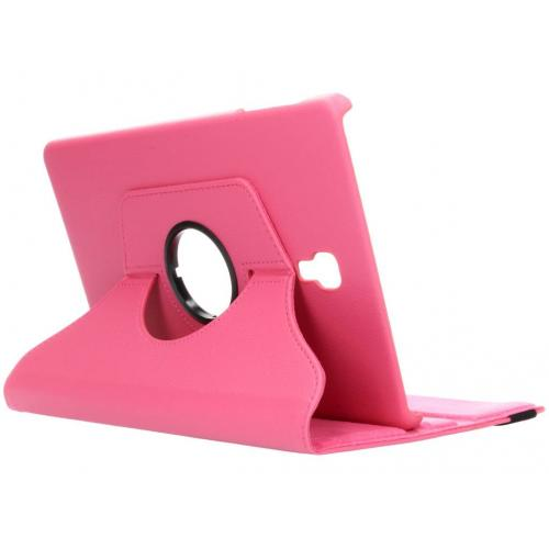 360° Draaibare Bookcase voor Samsung Galaxy Tab A 10.5 (2018) - Roze