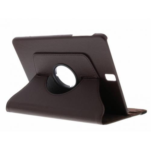 360° Draaibare Bookcase voor Samsung Galaxy Tab S3 9.7 - Bruin