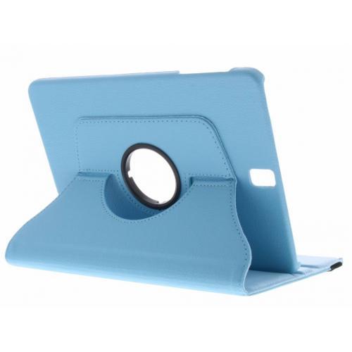 360° Draaibare Bookcase voor Samsung Galaxy Tab S3 9.7 - Lichtblauw