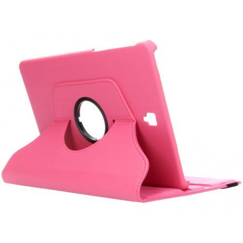 360° Draaibare Bookcase voor Samsung Galaxy Tab S4 10.5 - Roze