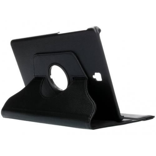 360° Draaibare Bookcase voor Samsung Galaxy Tab S4 10.5 - Zwart