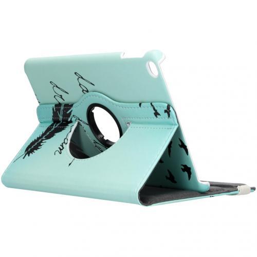 360° Draaibare Design Bookcase voor de iPad mini (2019) / Mini 4 - Dare to Dream