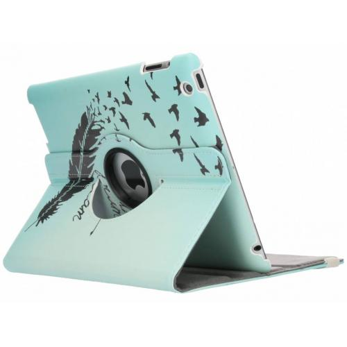 360° Draaibare Design Bookcase voor iPad 2 / 3 / 4 - Dare to Dream