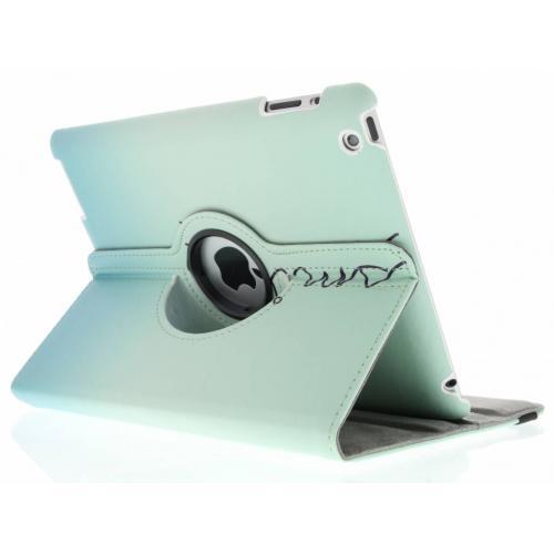360° Draaibare Design Bookcase voor iPad 2 / 3 / 4 - Smile
