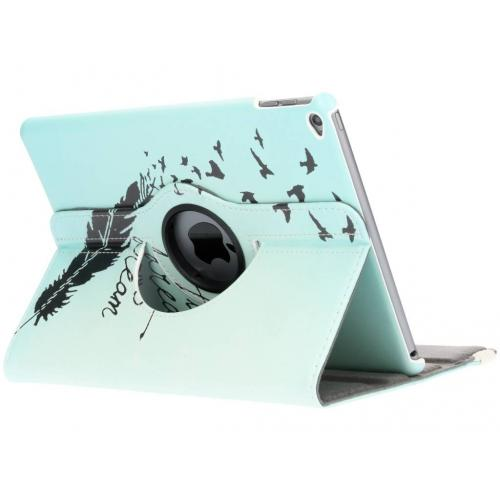 360° Draaibare Design Bookcase voor iPad Air 2 - Dare to Dream
