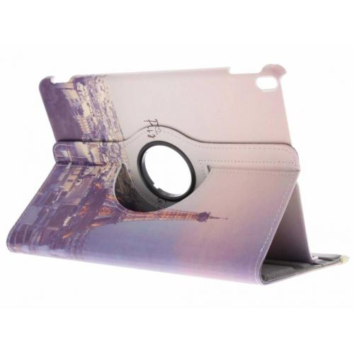 360° Draaibare Design Bookcase voor iPad Pro 10.5 / Air 10.5 - Parijs Je T'aime