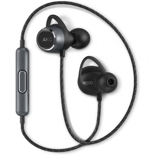AKG N200 Wireless In-Ear Headphones - Zwart