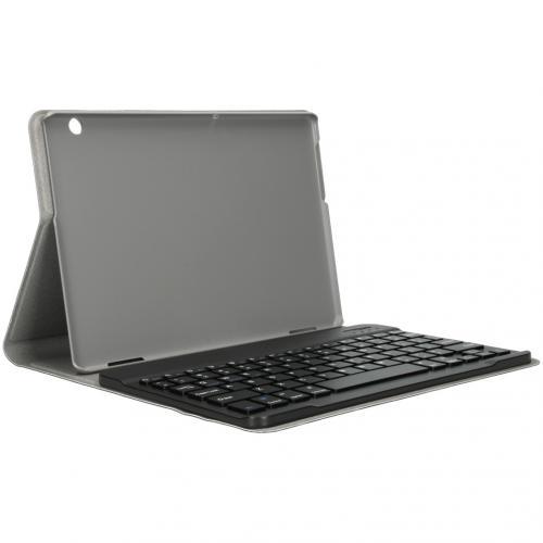 Bluetooth Keyboard Bookcase voor de Huawei MediaPad T5 10.1 inch - Zwart