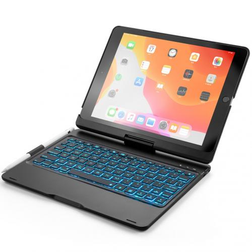 Bluetooth Keyboard Bookcase voor de iPad 10.2 (2019) / Air 10.5 / Pro 10.5