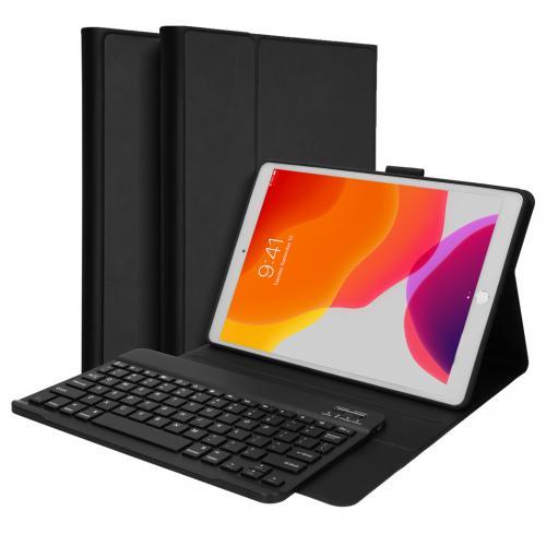 Bluetooth Keyboard Bookcase voor de iPad 10.2 (2019) - Zwart
